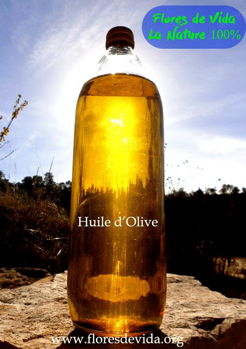 "Huile d'olive ""Flores de Vida"""