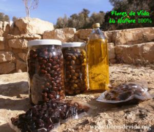 """Olives et Huile """"Flores de Vida"""""""