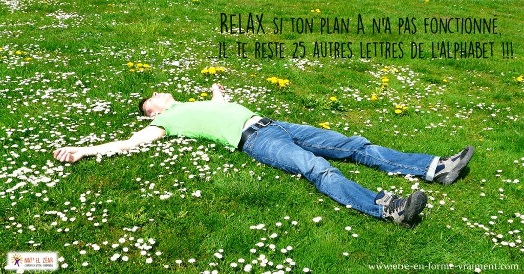 Relax ... c'est juste la Vie qui passe